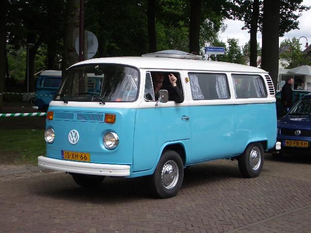 Reclame maken met een Oldtimer bus